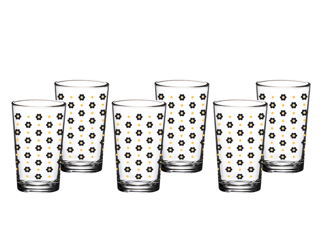 Water Glass 6 Piece 100 Ml