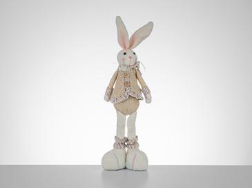 Happy Gift Rabbit Fabric Obiect Decorativ 28 Cm Roz-Bej