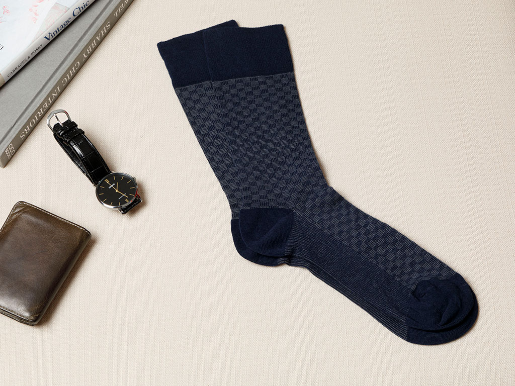Matris Cotton Socks Mix Dark Blue