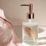 Urban Pure Bathroom Liquid Soap Dispenser 7,2x18,5 Cm Gold