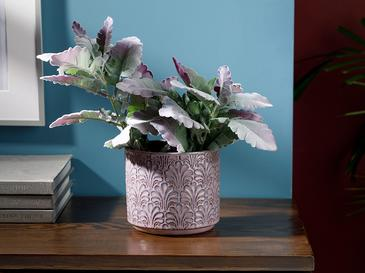 Marva Seamless Flowerpot 12,5x14x14 Cm Purple