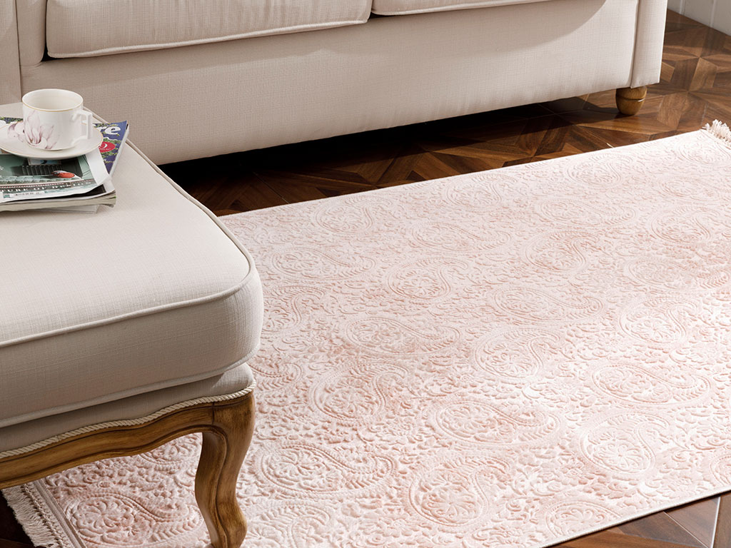 Polyestere Carpet 120x180 Cm Salmon