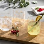 Alder Juice Glass 3 Piece 270 Ml Gold