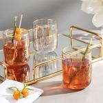 Articles Juice Glass 3 Piece 270 Ml Transparent