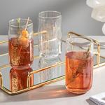 Luba Juice Glass 3 Piece 365 Ml Gold