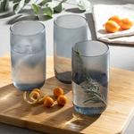 Bande Juice Glass 3 Piece 365 Ml Gray