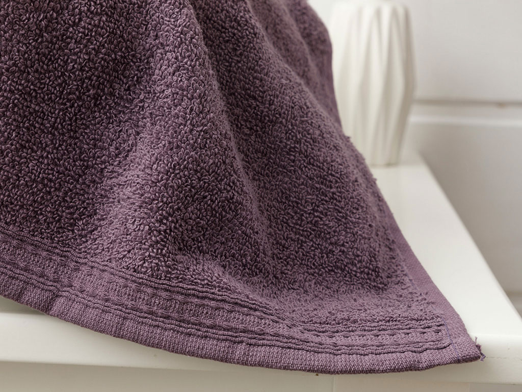 Pure Basic Hand Towel 30x30 Cm Dark Violet
