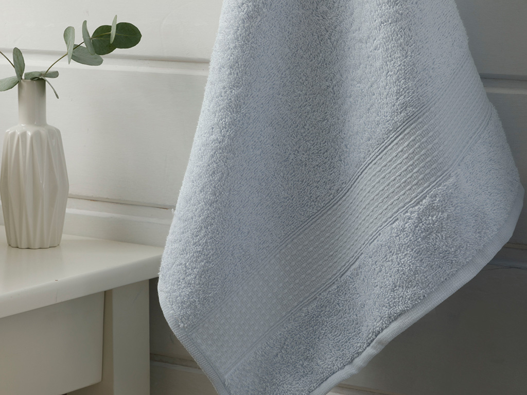 Pure Basic Face Towel 50x90 Cm Blue