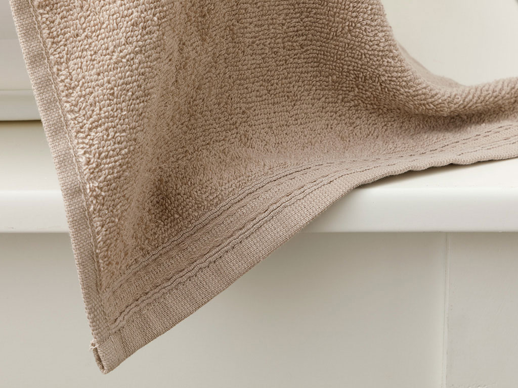 Pure Basic Hand Towel 30x30 Cm Light Brown