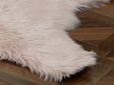 Jade Acrylic Fake Fur 80x150 Cm Powder