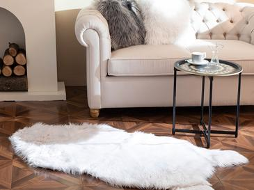 Jade Acrylic Fake Fur 80x150 Cm White