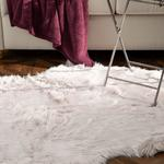 Jade Acrylic Fake Fur 120x180 Cm Light Damson