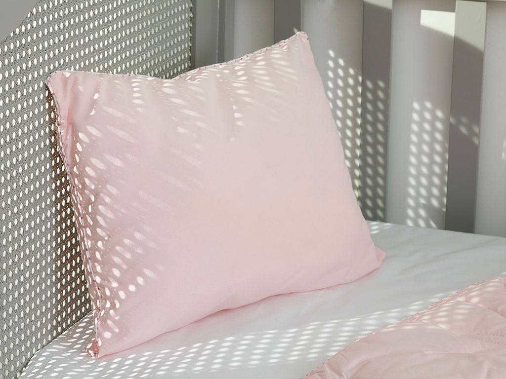 Pure Microfiber Baby Pillow 35x45 Cm Pink