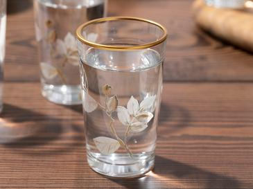 Water Glass 6 Piece 100 Ml Transparent