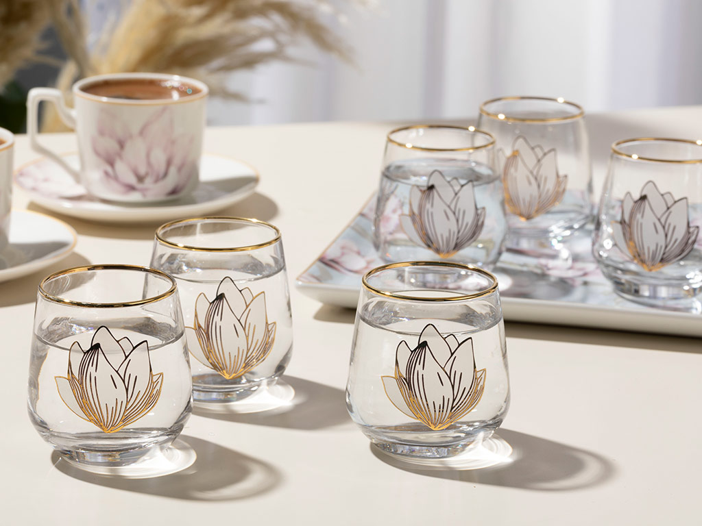 Magnolia Water Glass 115 ml Transparent