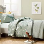 Dinosaurs Cotton Baby Duvet Cover Full Set 160x220 Cm Green