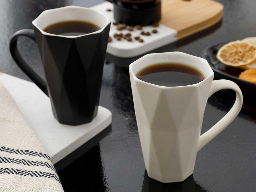 Talia New Bone 2 Set Cup 290x300 Cm Beige - Black