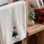 Snow Star Yd Embroidered Packaged Souvenir Towel 40x60 Cm Ecru