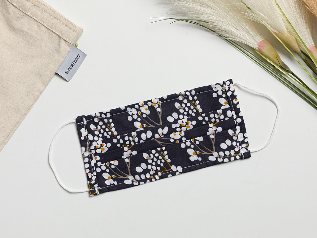 Miracle Cotton Mask 9,5x18 Cm Navy Blue