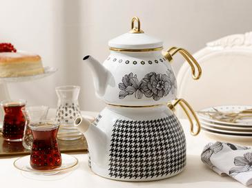 Enamel Tea Pot 2,5 L