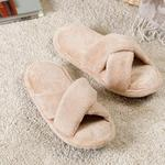 Gales Polyester Home Slıppers 39-41 Light Cream