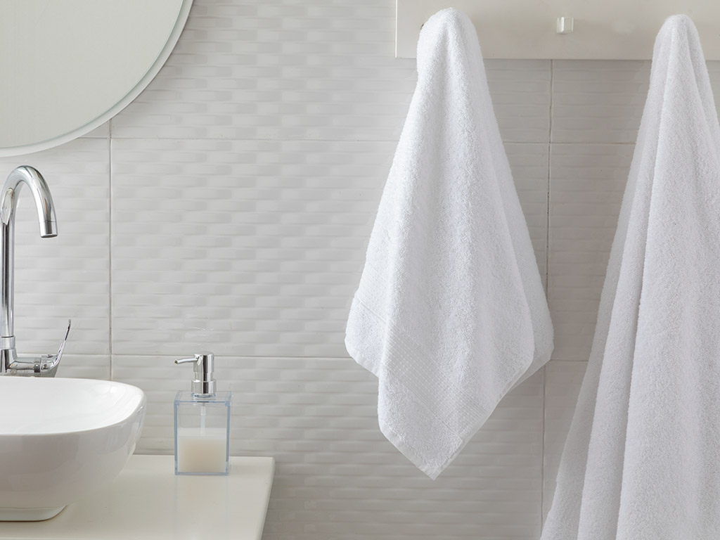 Pure Basic Face Towel 50x90 Cm White