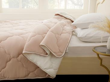 Weaved King Size Comforter 23,8x23,6x36,0 Cm Pudra