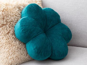 Bloom Velvet Cushion 40x39x93 Cm Dark Green