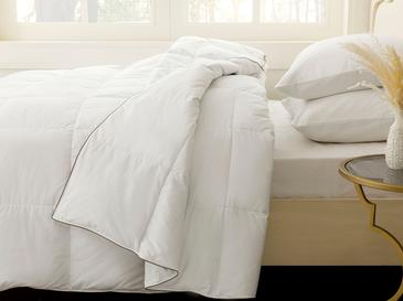 Goose Feather For One Person Comforter 155x215 Cm Beyaz