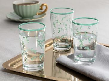 Glass 6 Set Served With Coffee Water Glass 100 Ml
