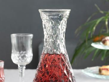 Victory Glass Carafe 10,9x10,9x9,2 Cm Antrasit