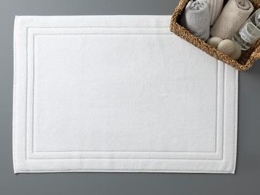 Thick and Double Frame Foot Towel 50x70 Cm White