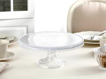Victory Glass Cake Stand 28 Cm Transparent