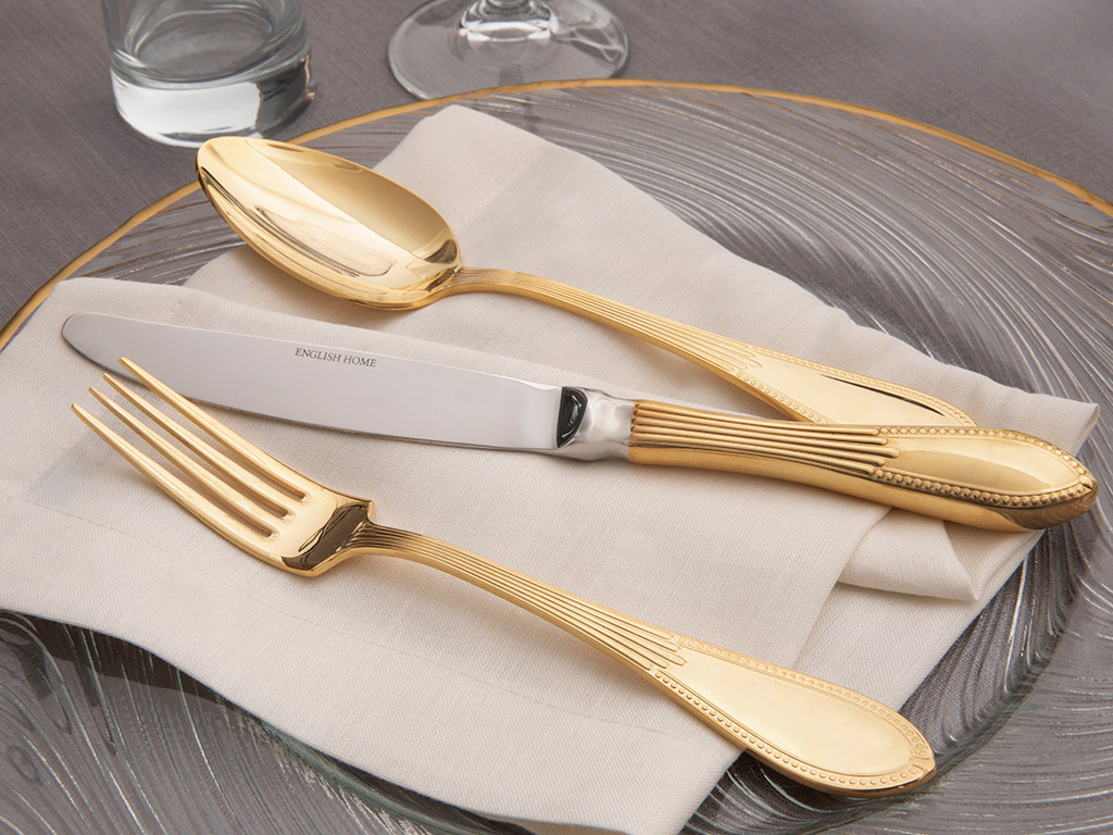 Leora Stainless Steel Gold