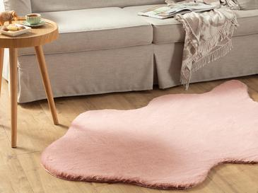 Polyestere Fake Fur 120x180 Cm. Pink
