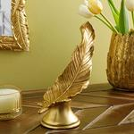 Feathers Decorative Object Gold
