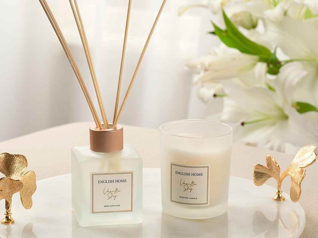 Scented Set Of 2 Pieces Scented Set Rose Gold