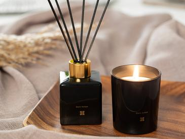 Scented Set Of 2 Pieces Scented Set Black