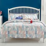 Cottony For One Person Duvet Cover Set Pack 160x220 Cm Blue