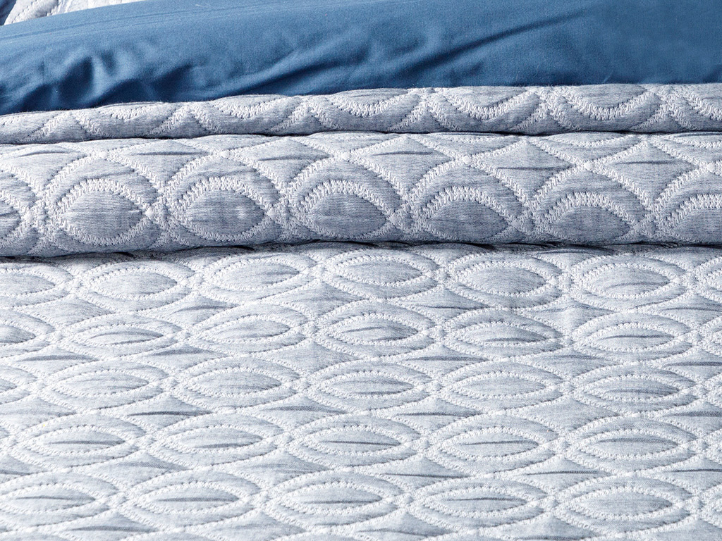 Cover For One Person Bed Quılt Set 180 Cm.