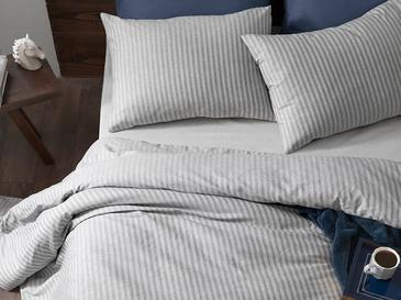 Classy For One Person Duvet Cover Set 160x220 Cm Gri