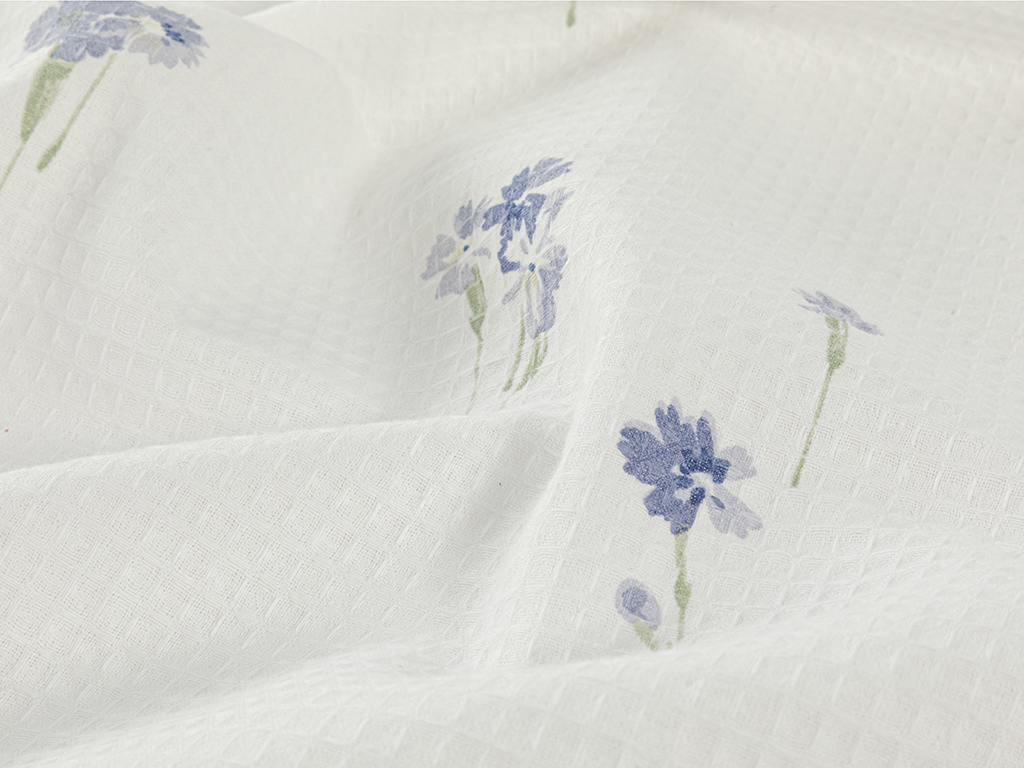 Printed For One Person Summer Blanket 150x220 Cm Lilac,