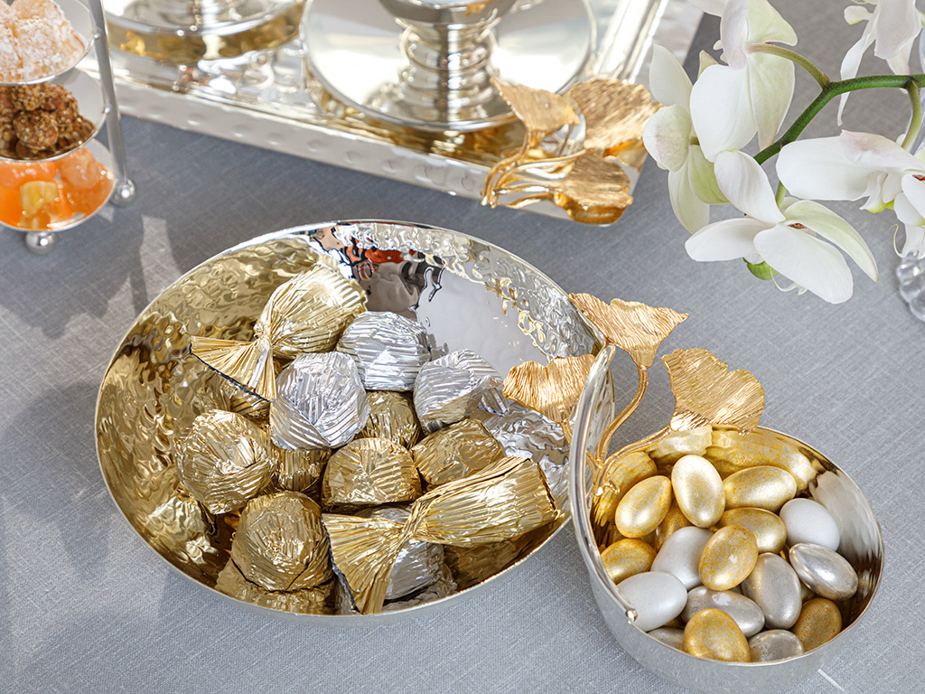Silver Plated Appetızers 26,5 Cm Silver,