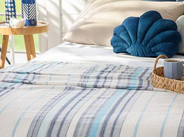 Painted Yarn Double Person Summer Blanket 200x220 Cm.